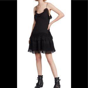 SOLD!!! All Saints Sanse Dress in Black, size 6